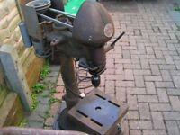 Pillar drill/ drill press vintage cast iron working order