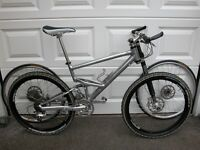 Cannondale Jekyll 2002 Limited Edition (LE); this is a limited edition bike, #30 of 300.