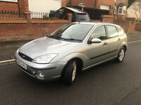 2003*FORD FOCUS ZETEC 1.6 PETROL*7 MONTHS MOT*3 FORMER KEEPERS*AIR CON*ALLOYS