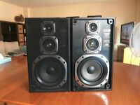 JVC 3-Way HiFi Speakers