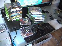 xbox original loads of games 2 pads all leads