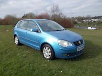 2006 VOLKSWAGEN POLO 1.4 TDI 5 DOOR FULL YEARS MOT