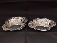 Antique Chester Silver open salts