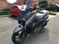 YAMAHA XMAX 125cc MATT GREY 16 plate ABS LOW MILEAGE like new hpi clear!!!