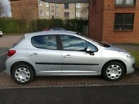 Peugeot 207 1.4 Petrol Manual Silver 5 Door
