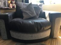 3 seater sofa and sound chair