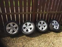 "BMW 16"" wheels and tyres"