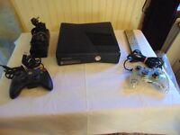 250 gb X-BOX 360 + Kinect + Games