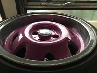 Volkswagen Lupo Mk2 gti alloy wheels x4 ats cups 15 inch pcd 100