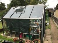 For sale: Greenhouse including many extras