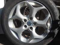 2008 FORD FOCUS SPORT 16in ALLOY RIMS WHEELS x 4