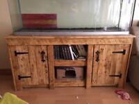 Handmade bespoke pallet sideboard.