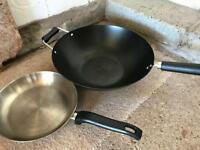 Wok and Frying pan