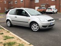 2005 (55) Ford Fiesta 1.25 Style Climate 3 Dr Silver Petrol Manual Only 56000 Miles Drives Great