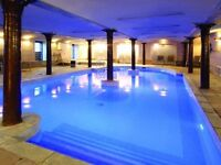 Double room @ Speirs Wharf with gym, pool & spa £625 per month