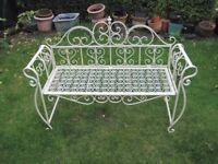 Old garden seat
