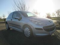 Peugeot 207 1.4 HDI Van - 2008 - 1 Years MOT - Astra Van sized boot