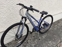 Carrera Crossfire 2 ladies bike, excellent spec, as new.