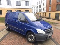 2012 MERCEDES VITO 111 CDI MANUAL 6 SPEED FSH BLUE NO VAT PX WELCOME