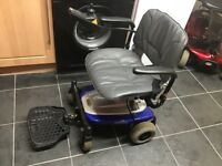 SHOPRIDER MOBILE CHAIR IN EXCELENT CONDITION, EASILY FITS IN A CAR BOOT