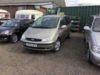 car2003 DIESEL ford Galaxy 7 seater in vgcondition mot April 2017 tow bar all the extras family car