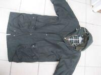 Wax hunting jacket