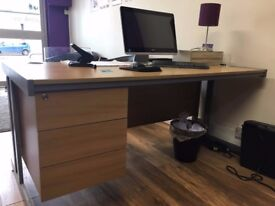 !!QUICK SALE 3 OFFICE DESK £100 - 160cm X 80.5cm - EXCELLENT CONDITION!!