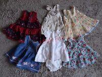 Baby girls dress bundle.