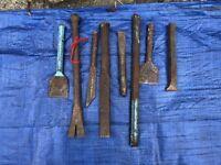 Various Cold Steel Metal Mechanics Engineers Chisel