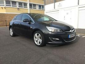 Vauxhall Astra 2014 petrol full-service history manual 1.6 low mileage