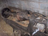 FORD RANGER 2003 4X4 REAR AXLE.