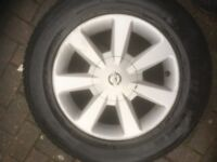 NISSAN E51 16'' WHEELS AND TYRES ( set of 4 )