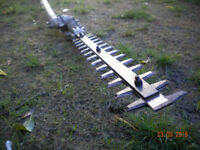 Hedge Trimmer, Strimmer and power head - Eckman multi-tool - £75