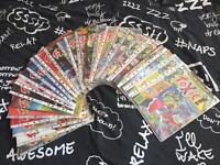 27 Individual Issues of Toxic Comic - Adult Comic from 1991