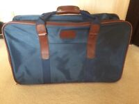 Small NAVY Collapsible Suitcase.