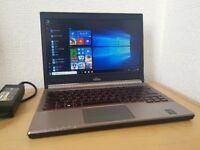 Fujitsu Lifebook E734,Intel Core i5-4300M,4GB DDR3,500GB,Win 10 Pro 64 Bit laptop