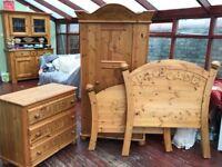 Beautiful Solid wood kids bedroom Furniture
