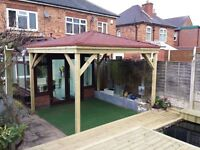 Decking & landscaping services across the West Midlands