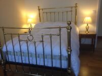 vintage brass double bed