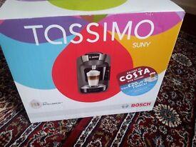 Tassimo Suny coffee machine brand new