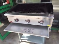 CATERING COMMERCIAL BRAND NEW 3 BURNER FLAME GRILL CHICKEN TAKE AWAY FAST FOOD CUISINE RESTAURANT