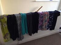 Bundle of maternity dresses 10/12