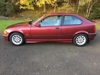 ***FUTURE CLASSIC***1997 BMW 316i 1.6 3dr Hatchback (Only 46k) Petrol, Manual, 1 previous owner