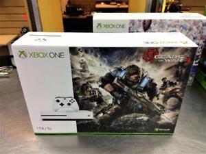 Console XBOX ONE S 1TO Gears Of War 4 (40$ de crédit de jeux inclus!) ***Produit Neuf***