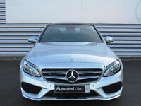 Mercedes-Benz C Class C220 D AMG LINE PREMIUM (silver) 2017-01-13