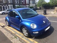 VW VOLKSWAGEN BEETLE 2.0 AUTOMATIC 2000 HEATED LEATHERS,BLUETOOTH,VERY CLEAN 2 KEYS CAM BELT CHANGE