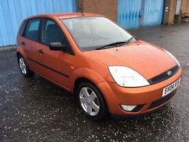 2004 Ford FIESTA 1.4 zetec , mot - September 2017,only 67,000 miles,service history,corsa,clio,punto