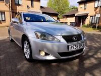 2007 Lexus IS 220d diesel 6 Speed Manual .Service History. Long Mot. Hpi Clear. Very Good Condition