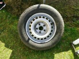 Mercedes sprinter spare wheel