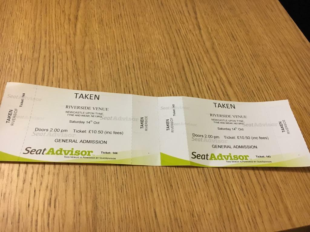 Taken (boyband) tickets